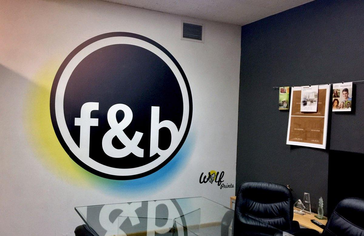 F & B Wall Print